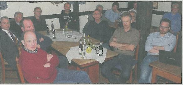 Interessiert verfolgten die Besucher des Gewerbestammtisches der Ortsgemeinschaft Buldern die Vorträge.